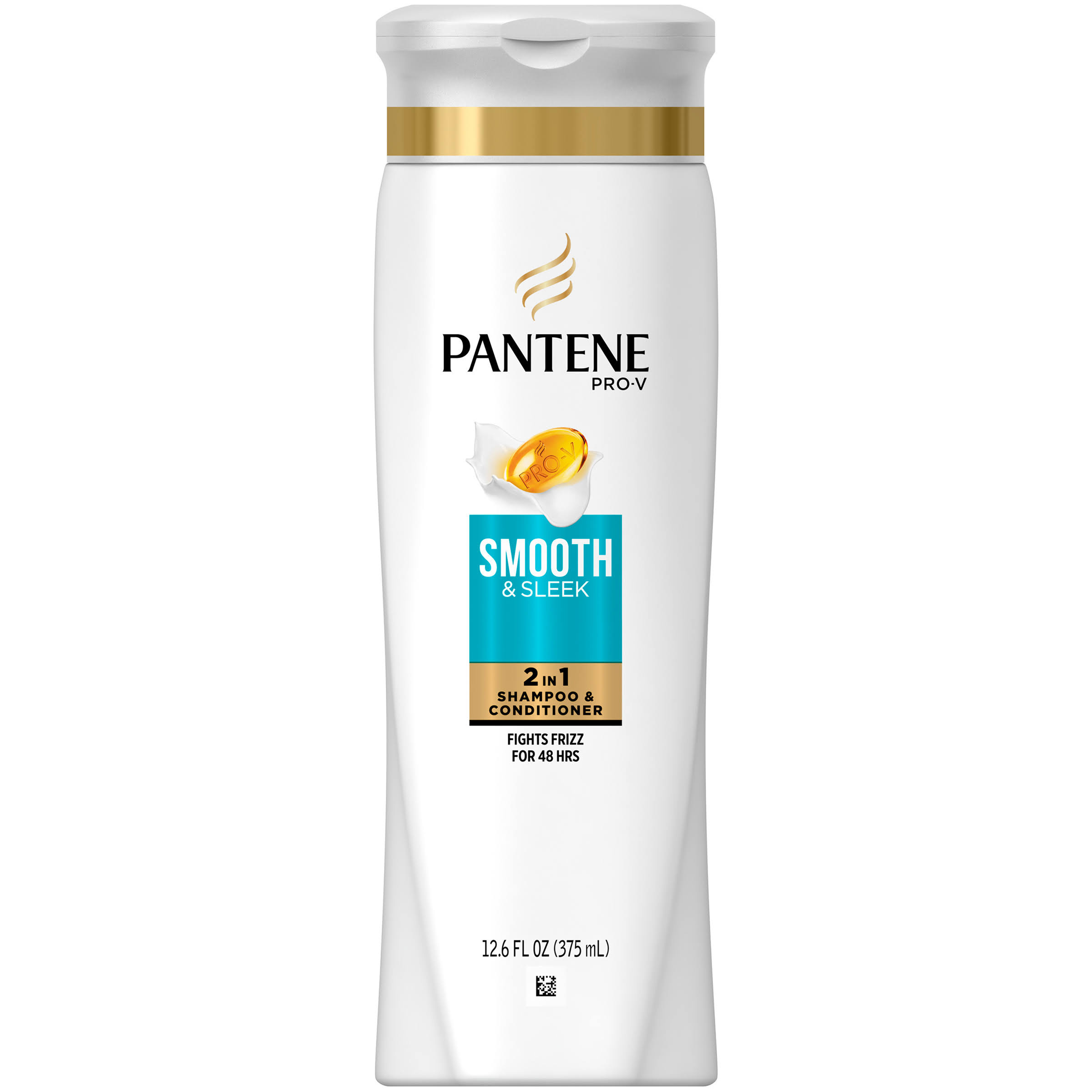 Pantene Pro V Smooth and Sleek 2 in 1 Shampoo and Conditioner - 12.6oz