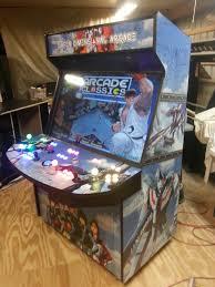 Build Arcade Cabinet With Pc by 4 Player 50 U2033 Led Home Arcade Game Arcadesrfun