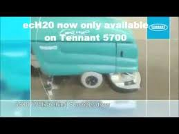 Tennant Floor Scrubbers 5680 by Powervac Tennant 5680 Industrial Floor Scrubber Youtube