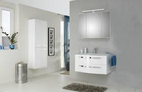 pelipal fokus 4005 bad möbel set 3 teilig polarweiß hochglanz spiegelschrank glaswaschtisch unterschrank led beleuchtung