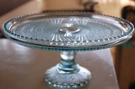 Kitchen Vintage Cake Stands Poetic Home I Adore And This Is The Piece That Started It All S A Pressed Glass Stand Picked Up At An Antique Mal With Domes