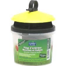 piege a mouche exterieur piège mouches et guêpes etamine du lys