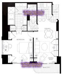 Mgm Grand Hotel Floor Plan by Rooms Hotel The Signature At Mgm Grand 1br Balcony Suite