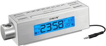 reveil heure au plafond sony c717pj radio réveil à tendance musicale