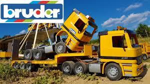 100 Bruder Trucks BRUDER Toys CRASH Compilation YouTube
