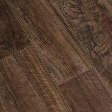 Floor Muffler Vs Cork Underlayment by Trafficmaster Lakeshore Pecan 7 Mm Thick X 7 2 3 In Wide X 50 5 8