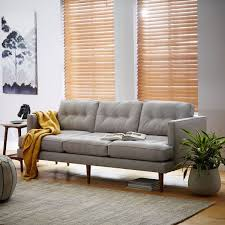West Elm Everett Chair Leather by Quality Of West Elm Sofas 3780