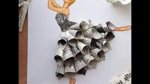 Drawing Art By Waste Material