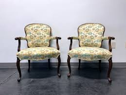 Vintage French Provincial Louis XV Style Fauteuils Open Arm Chairs - Pair Kindel Fniture Cherry Banquetstyle Ding Room Table 1960s Breakfront Cabinet Rigakublogcom Details About L46708ec Set Of Kindel Shield Back Carved Mahogany Chairs Vintage Belvedere Spoonback Of 6 Rare Sofas Storage Cabinets More Hickory Chair Bedroom Chest 156673 Studio 882 The Arts French Country 4 Regency Style Wall Mirror Thomasville Fniture Tableau Collection Cane Arm 70195 233246 One Drawer Lamp Side End From Philly Pladelphia Attic