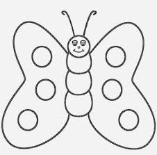 Butterfly Coloring Pages 4061