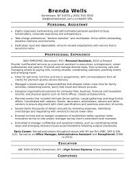 Resume Templates For Office Assistant Striking With No Experience Profile Examples Best Format 1920