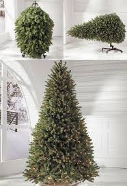 8ft Artificial White Christmas Tree by Christmas Flip Trees The Green Head