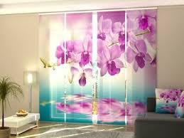 gardinen vorhänge nach maß fotogardinen orchidee
