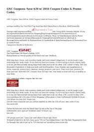 GNC Coupons: Save $20 W/ 2014 Coupon Codes & Promo Codes Amazoncom Gnc Minerals Gnc Gift Card Online Coupon Garmin Fenix 5 Voucher Code Discover Card Quarterly Discounts Slice Of Italy Grease Burger Bar Coupons Lifeway Coupon April 2019 Argos Promo Ireland Rxbar Protein Bar Memorial Day Weekend What Savings Deals And Coupons Tampa Lutz Fl Weight Loss Health Vitamin For Many Retailers The Price Isnt Right Wsj Illumination Holly Springs Hollyspringsgnc Twitter Chinese Firms Look At Fortifying Nutrition Holdings With