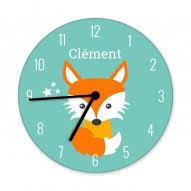 horloge enfant horloge personnalisée horloge chambre enfant