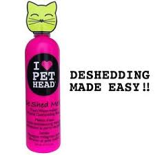 Excessive Hair Shedding In Cats by Pet Head Cat Kitten De Shed Me Rinse Shampoo U2013 Removes Excess Hair