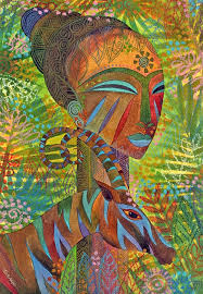 African Queens Painting By Jennifer Baird