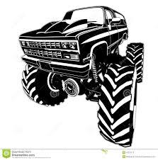 Cartoon Monster Truck Stock Vector. Illustration Of Driving - 43231112