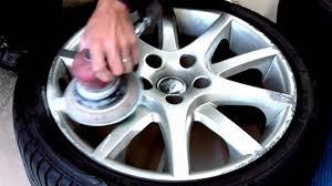 Wheel Restoration - Alloy Wheel Repair - YouTube