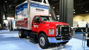 100 F650 Ford Truck Roush CleanTech Helps Unveil Allelectric