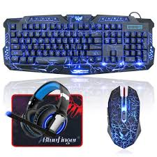 BlueFinger LED Gaming Keyboard Mouse Headset Combo,USB Wired 3 Color Crack  Backlit Keyboard,Blue LED Light Gaming Headset,Gaming Keyboard Set For ... Your Keyboard And Mouse Are Filthy Heres How To Clean Them Best Gaming 2019 The Best Mice Available Today Cougar Deathfire Gaming Gear Combo Office Chair With Keyboard And Mouse Tray Computex Tesoro Updates Pipherals Displays Chairs Acer Reveals Monstrous Predator Thronos Chair Acers Is From A Future Where Have Lapboards Lapdesks Made For Pc Ign Original Fantech Gc 185 Alpha Gaming Chairs Top Of Line Durable Simple Yet Comfortable Suitable Home Usinternet Cafe Users Level 20 Rgb Cherry Mx Speed Silver Blackweb Starter Kit With Mousepad Headset Walmartcom