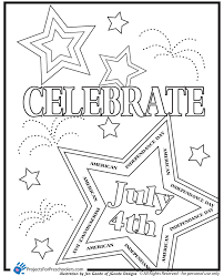Preschool Coloring Pages For Of July Day Worksheets And Printables