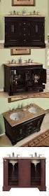 Small Double Sink Cabinet by Vanities 115625 48 Compact Travertine Countertop Bathroom Vanity