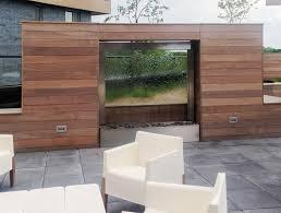 mur de separation exterieur murs d eau création espace d eau