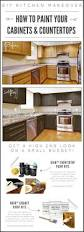 Small Kitchen Remodel Ideas On A Budget kitchen update on a budget paint that looks like granite and one