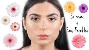 Pumpkin Enzyme Mask Banish by Skincare Routine Flawless Foundation Faux Freckles Getting