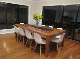Rustic Dining Room Decorating Ideas by Timber Dining Table White Chairs Wood Furniture Stores Melbourne
