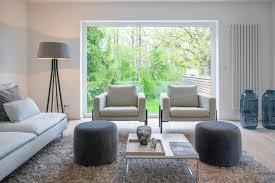 homestaging projekt wohnzimmer in blau grau tönen