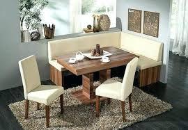 Corner Dinner Table Dining Room Bench Carpet
