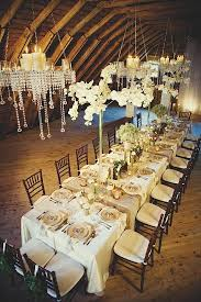 Rustic Glamour Wedding Reception Table Ideas Little Flower Shop