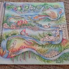 Enchanted Forest Coloring BooksAdult ColoringColor InspirationEnchanted BookJohanna Basford