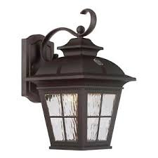 altair led outdoor coach light fixture dusk till automatic
