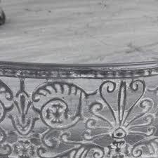 küchenhänger für töpfe kräuter deko antik stil metall küche