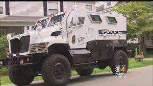 100 Armored Truck Haverhill Police Park In Front Of Home After Noise