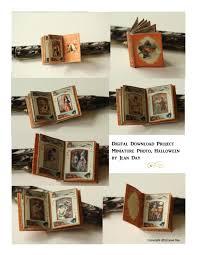 Childrens Halloween Books Pdf by Halloween Photo Album Pdf Jpg Miniature Book 1 12 Scale