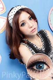 Halloween Contacts Cheap No Prescription by Vassen Sweet Eye Blue Circle Lenses Color Contacts Pinkyparadise