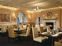 Dining Room At Rosewood Mansion On Turtle Creek In Dallas