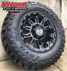 100 Truck Rims And Tires Packages 18X9 XD Series Type 829 Hoss 2 Mounted Up To A 28570R18 Toyo Open