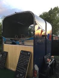 Vintage Horse Trailer Conversion Catering Coffee Bar Champagne