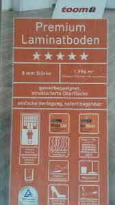 premium laminatboden eiche hell 8mm 4x 1 996 m toom laminat