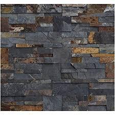 1 muster w 009 schiefer wandverkleidung naturstein wandverblender steinwand wand design verblender wall cladding fliesen lager verkauf