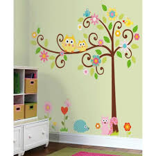 Outstanding Kids Bedroom Wall Designs Also Elegant Ideas For Images Decoration Interior Decorating Using Pink Furry Rug And White Wood Bookcase With Drawers