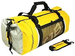 Amazon Overboard Gear Waterproof Duffel Bag 60 L Yellow