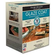 FAMOWOOD 1 gal Glaze Coat Clear Epoxy Kit 2 Pack The