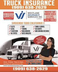 100 Commercial Truck Insurance California Westlane Services Home Rental 8350