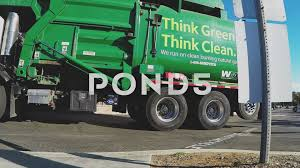 Garbage Truck With Slogan Thing Green Think Clean- Carlsbad CA ...